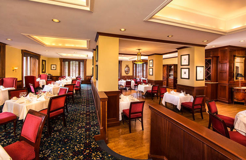 Dining at The Jefferson Hotel.