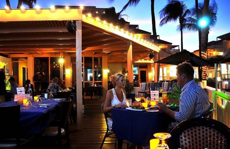 Dining at Playa Linda Beach Resort.