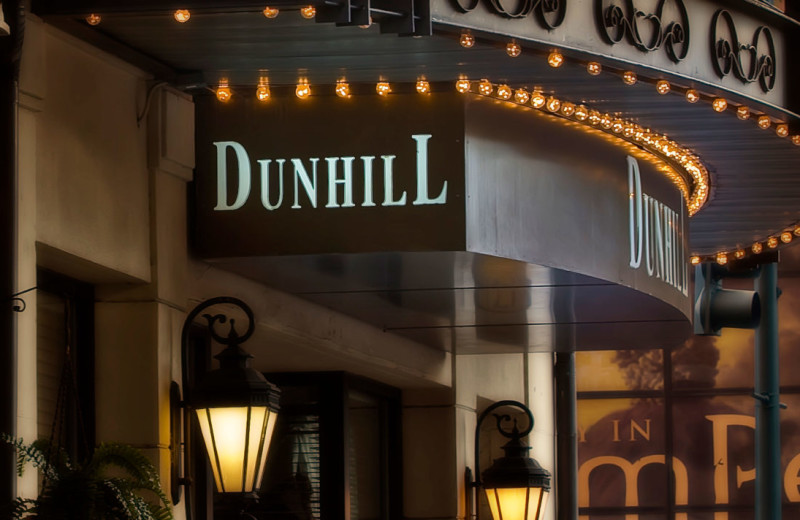 Exterior view of The Dunhill Hotel.