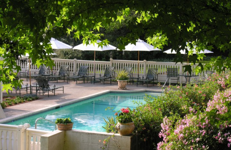 Outdoor pool at Madrona Manor.