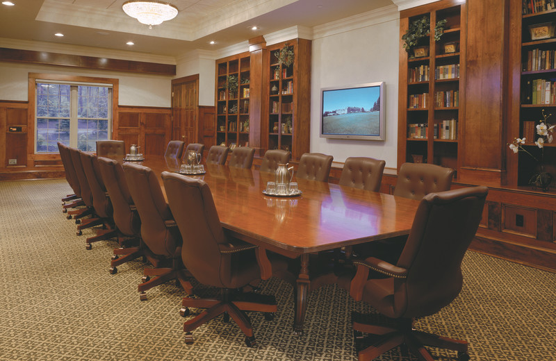 Meeting room at Skytop Lodge.