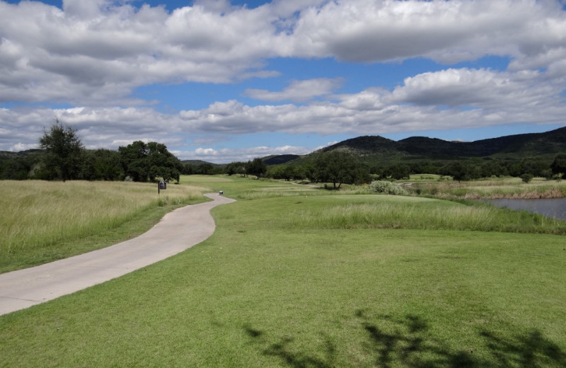 Golf course near Frio River Vacation Rentals.