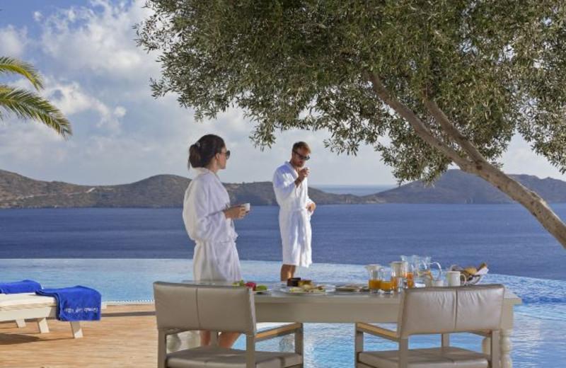 Dining at Elounda Gulf Villas & Suites.