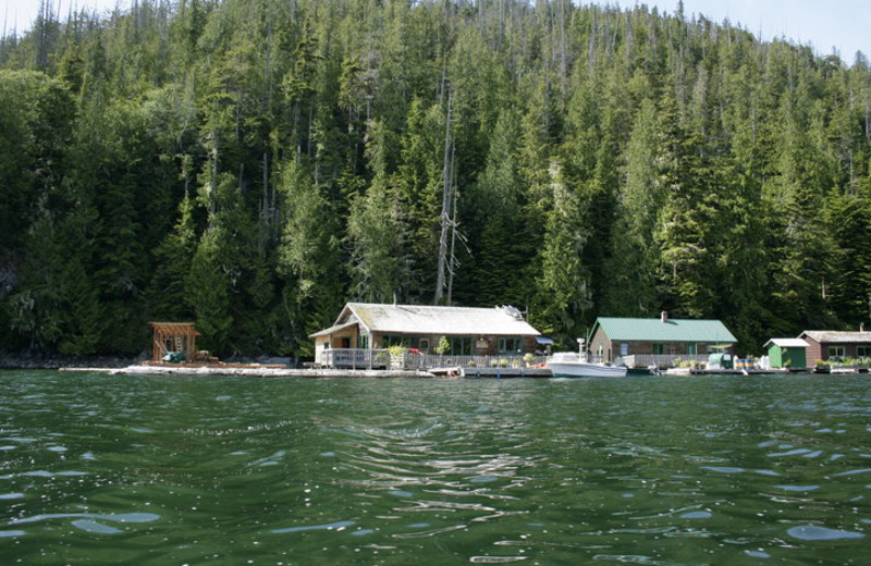 Exterior view of Blackfish Lodge.