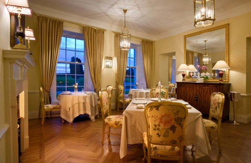 Dining room at Castlemartyr.