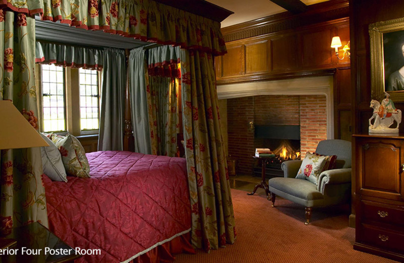 Guest room at Buckland Manor.