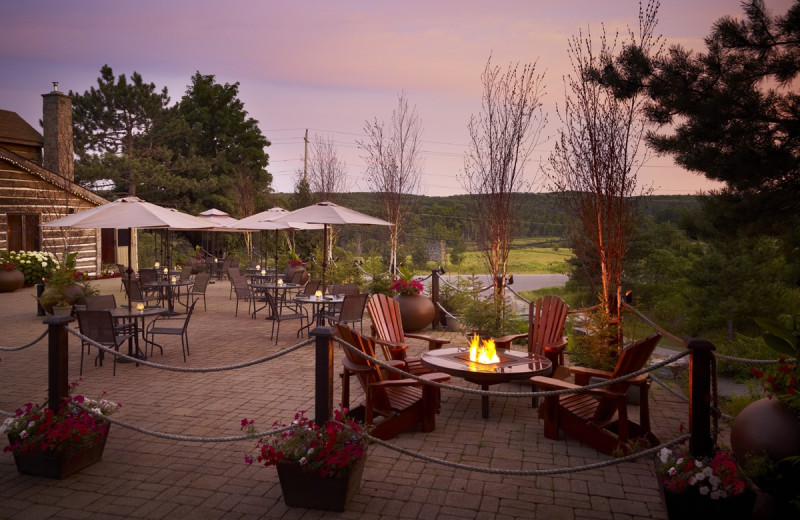 Patio at Deerhurst Resort.