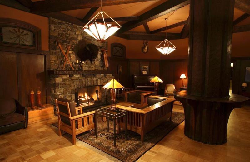 Lobby at Deer Lodge.