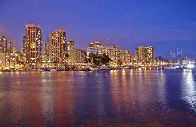 Exterior view of Prince Waikiki.