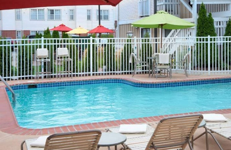 Outdoor pool at Residence Inn by Marriott Ann Arbor.