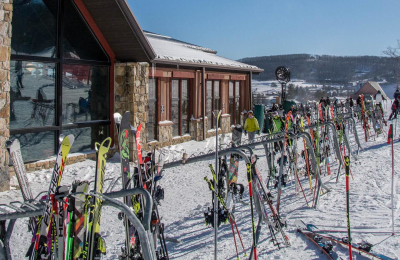 Skiing at Railey Vacations.