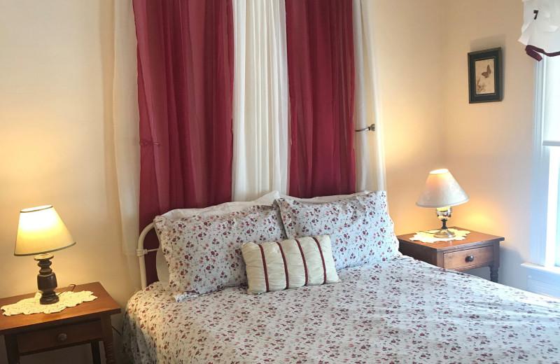 Guest room at The Inn at Starlight Lake.