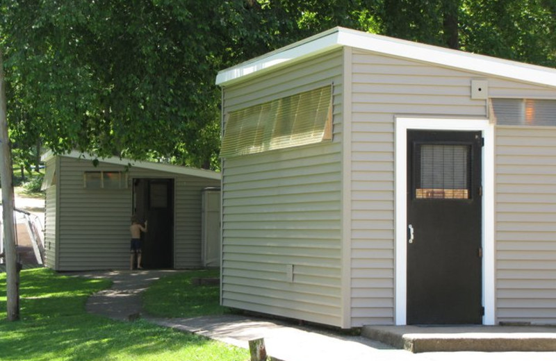 Restroom Buildings at Merry Mac's Campground