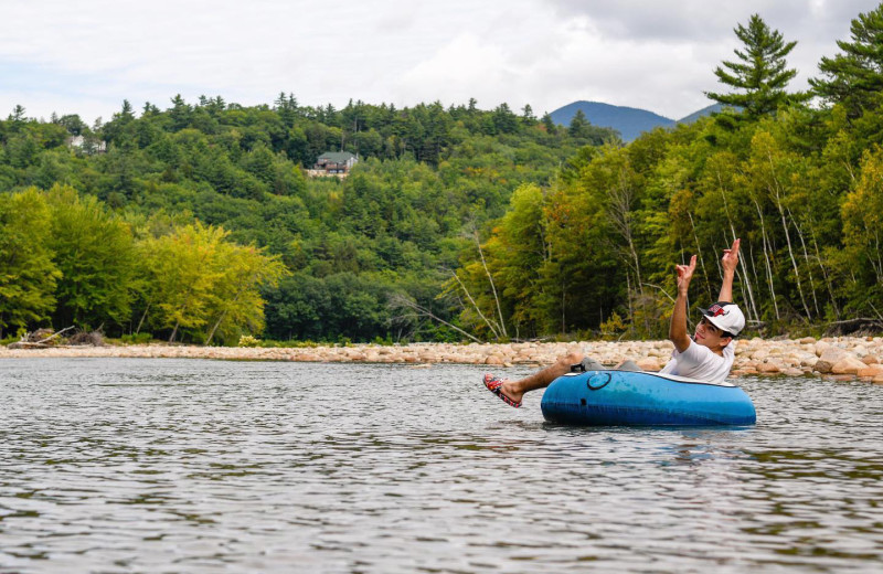 Tubing at Yogi Bear's Jellystone Park™ Camp-Resort Glen Ellis.