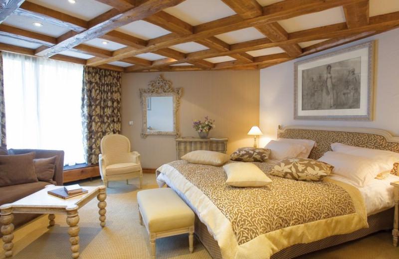 Guest room at Byblos des Neiges.