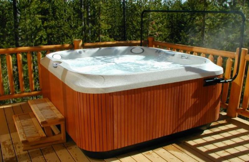Hot Tub at The Pines