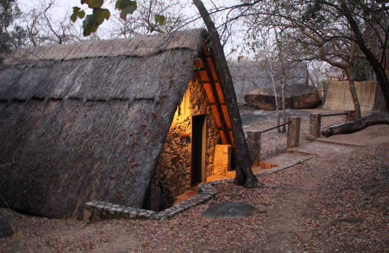 Exterior view of Big Cave Camp.