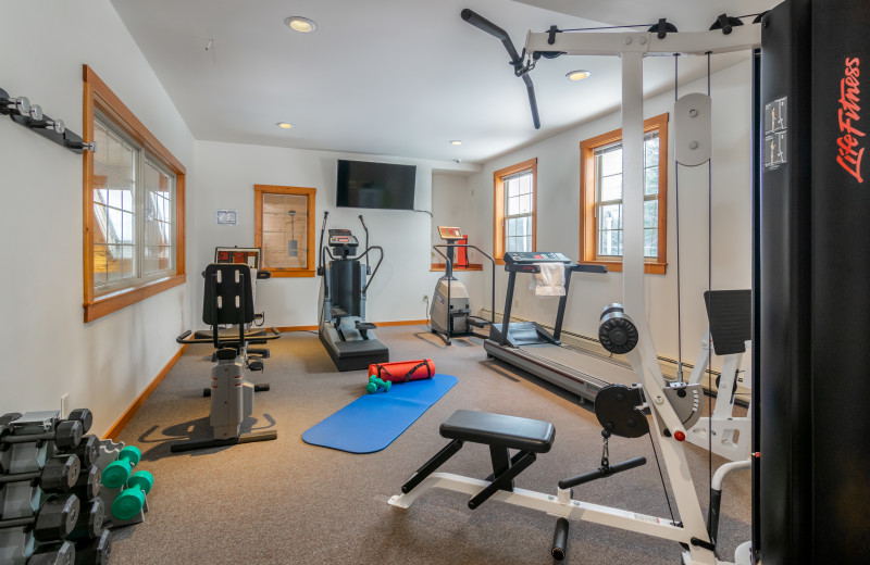 Grey Fox Inn Fitness Room.
