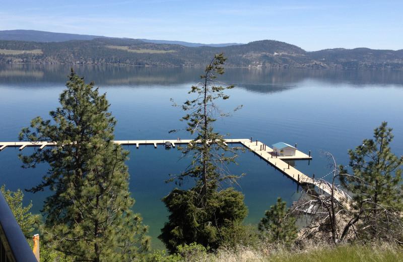 Beautiful views of Lake Okanagan