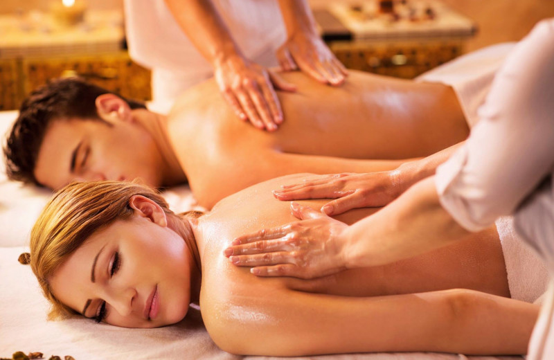 In cabin massages at The Lodge at Lane's End.