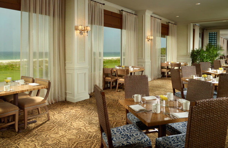 Restaurant at The Villas of Amelia Island Plantation.
