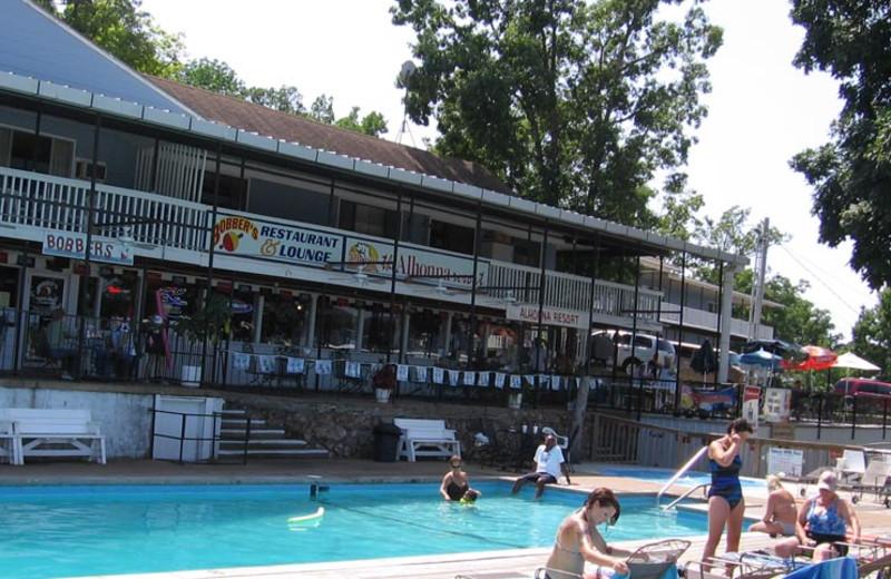 Outdoor pool at Alhonna Resort.