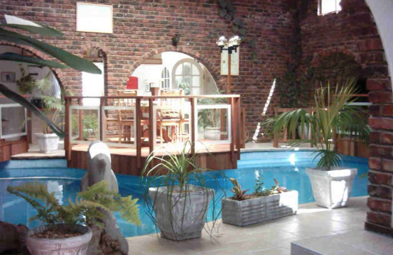 Indoor pool at Dolphin View Guesthouse Jeffreys Bay.