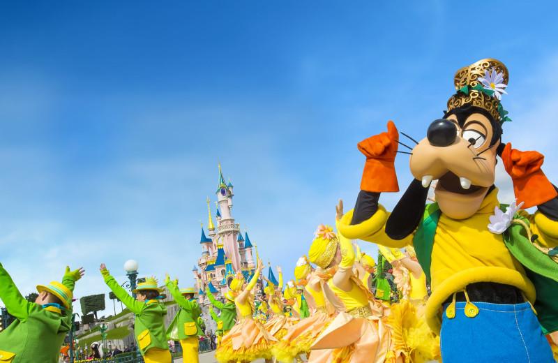 Disney parade at Disneyland Resort Paris.