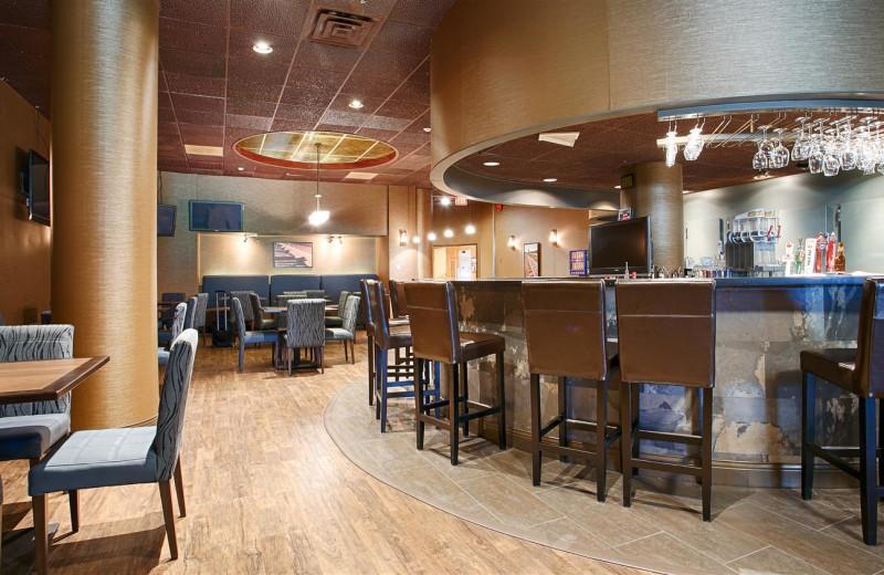 Lounge at Best Western Terrace Inn.