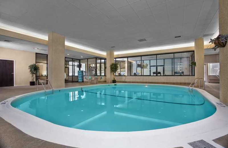 Indoor pool at Hilton Garden Inn St Paul City Center.
