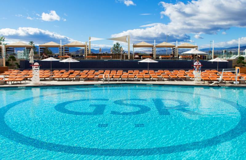 Pool at Grand Sierra Resort and Casino.