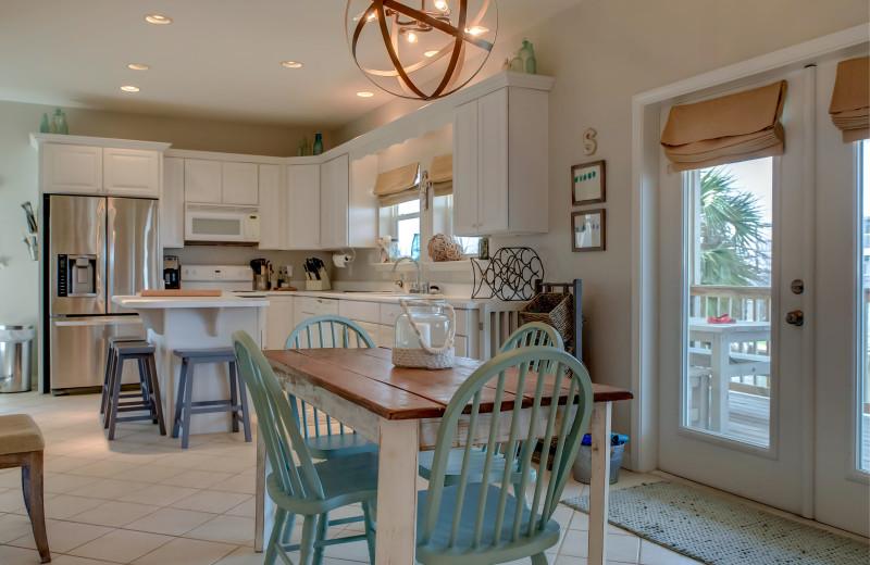 Rental kitchen at Boardwalk Realty Inc.