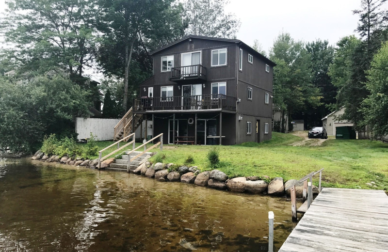 Rental exterior at At The Lake Vacation Rentals.