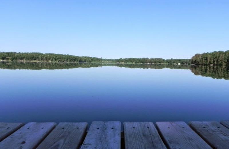 Lake view at Top O' The Morn Resort.