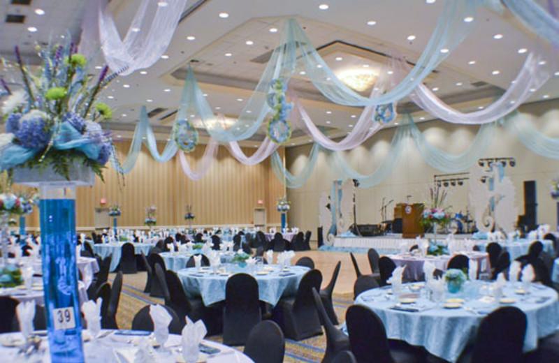 Wedding Layout at Boardwalk Beach Resort Hotel & Convention Center