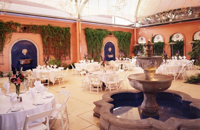 Dining at Hotel De Anza.