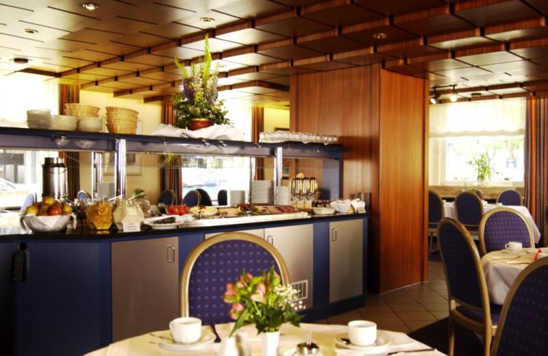 Dining at Inter City Hotel Stuttgart.