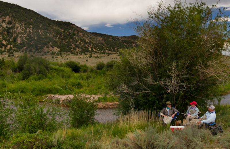 Scenic view at Utah Family Lodges.