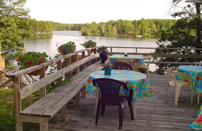 Deck view at Spot Supper Club & Resort.
