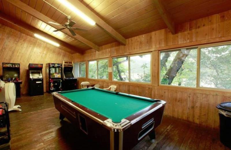Recreation room at Tsasdi Resort.
