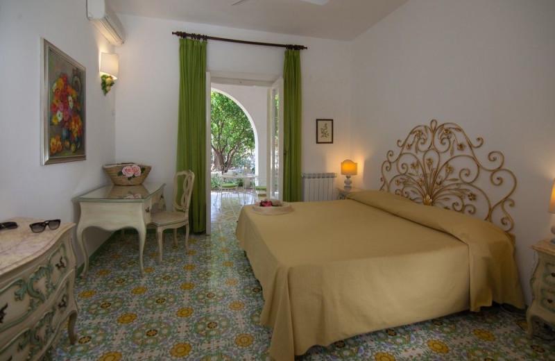 Guest room at Semiramis Hotel.