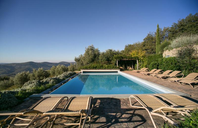 Outdoor pool at La Locanda.