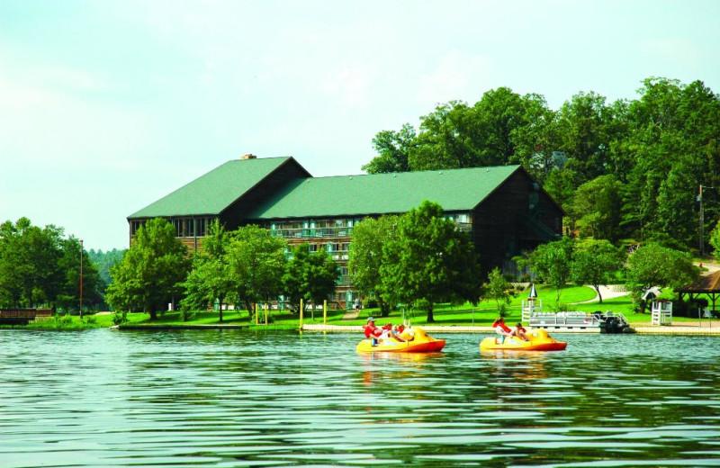 Kayaking at YMCA Trout Lodge & Camp Lakewood.
