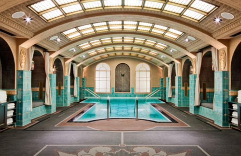 Indoor Pool Area at Hard Rock Hotel