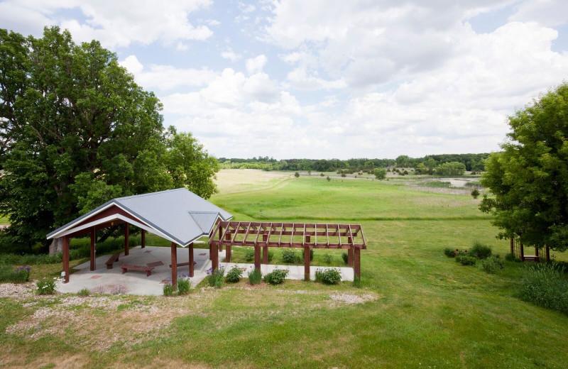 Pavilion at Spicer Green Lake Resort.