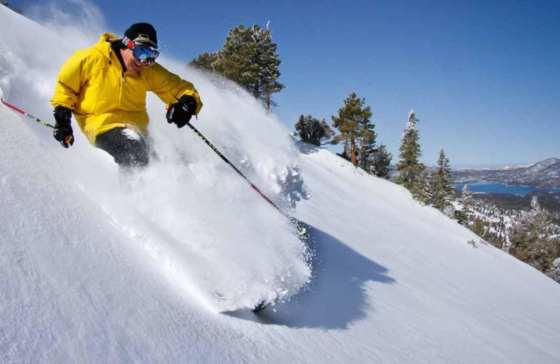 Skiing near Big Bear Vacations.