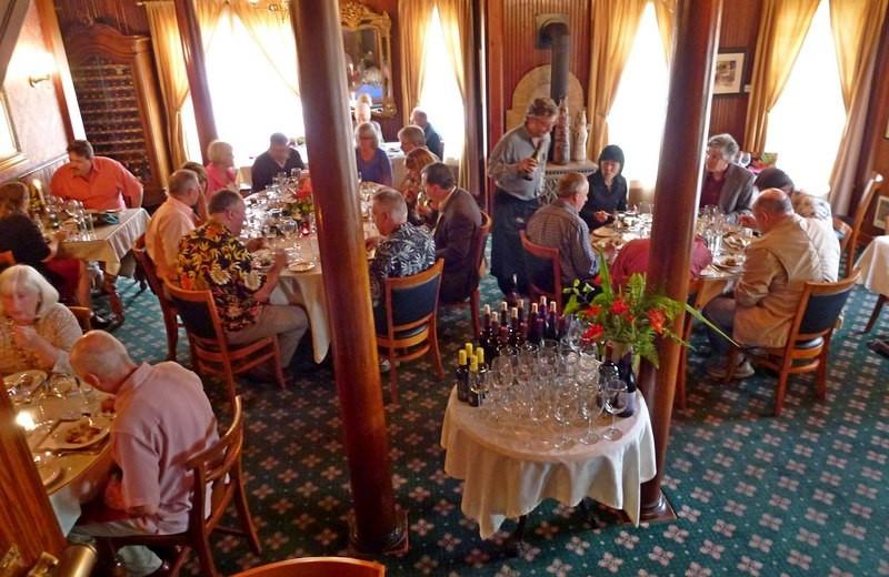 Dining at Shelburne Country Inn.