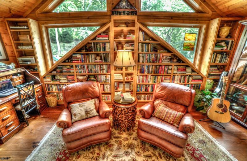 Library at The Lodge at River Run.