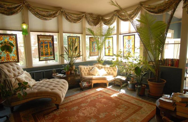 Sunroom at Grace Manor Inn.
