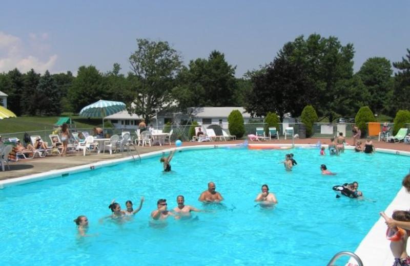 Outdoor Pool at Wolff's Maple Breeze Resort
